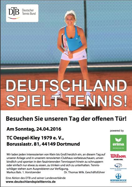 Deutschland spielt Tennis 2016